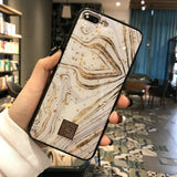 Golden Marble Phone Case