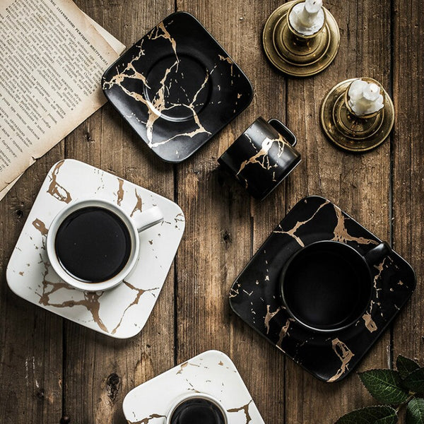 Luxurious Marble Coffee Cup