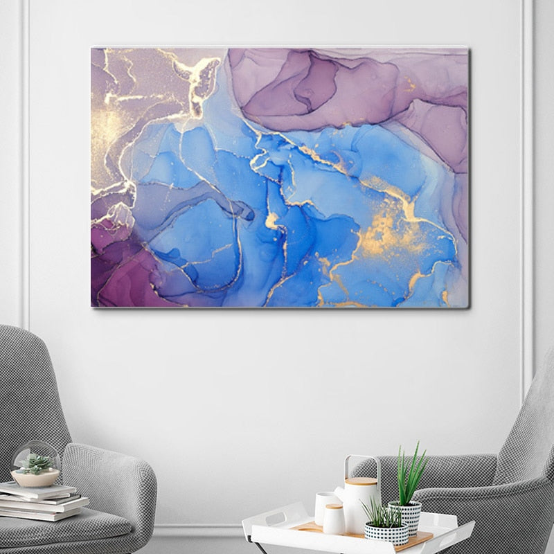 Crystal CLouds Painting