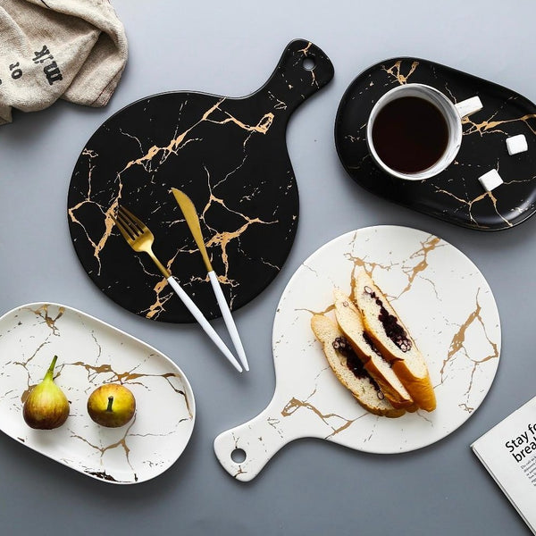 Japanese Marble Dishes