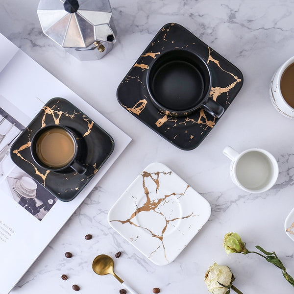 Marble Coffee Cup