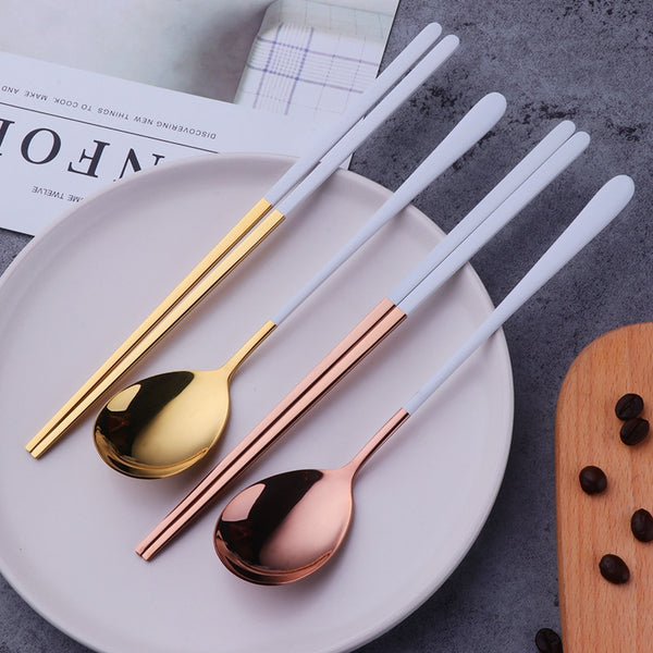 Chopsticks Spoon Set