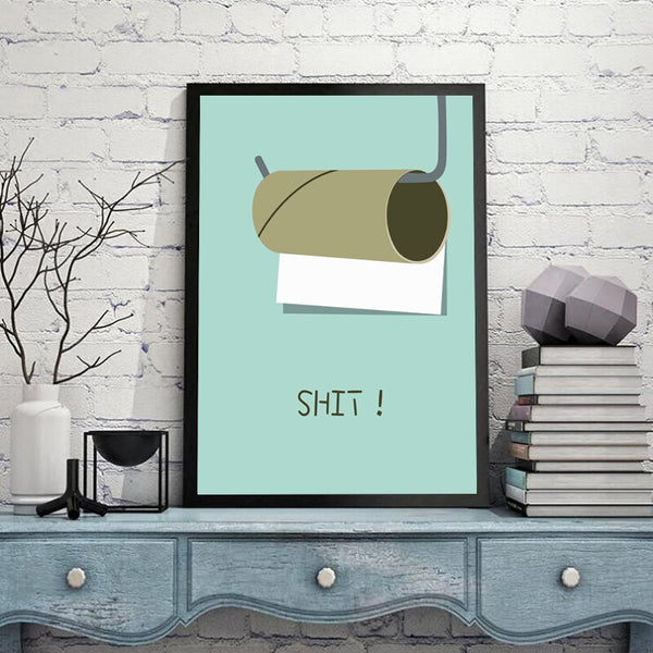 Bathroom Funny Poster