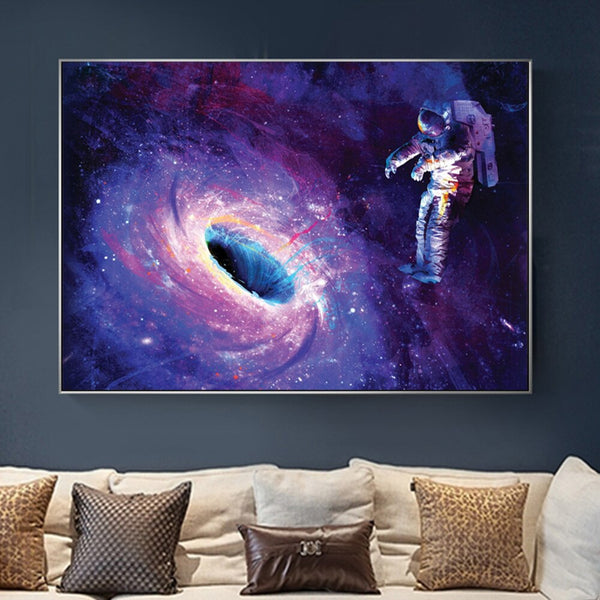 Black Hole Astronaut