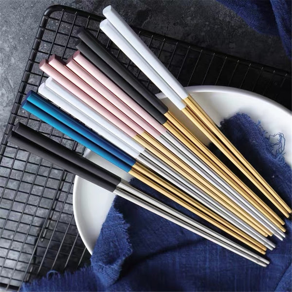 Square Metal Chopsticks