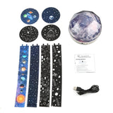 Starry Sky Magic Rotating Galaxy Projector