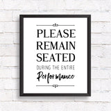 Please Remain Seated