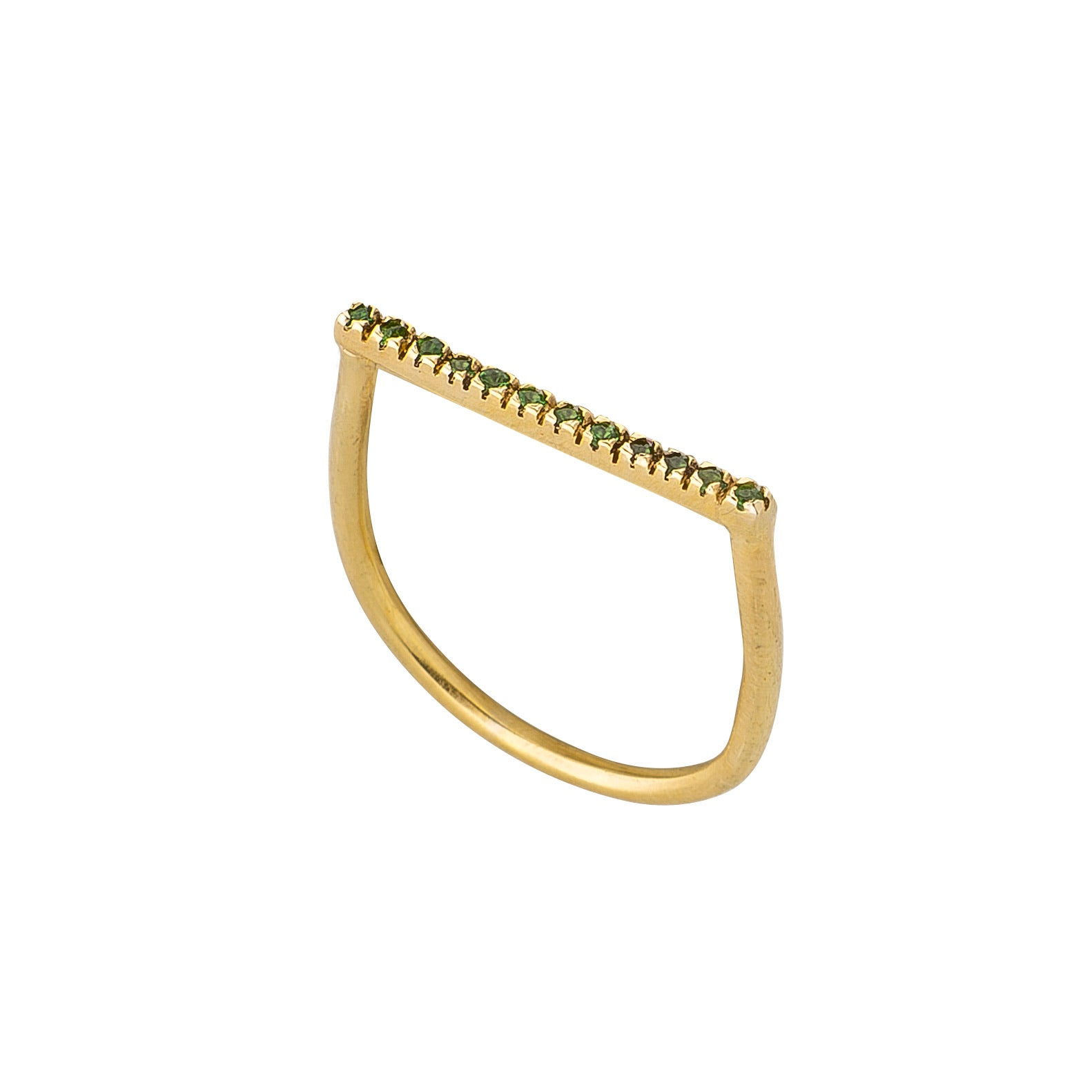 Golden Barrel Ring