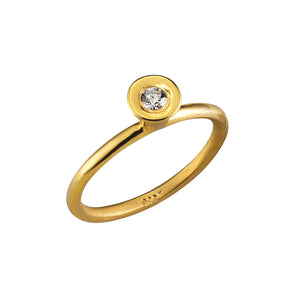 Solitaire Bell Golden Ring