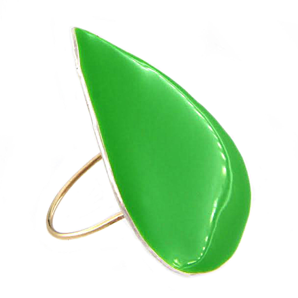 Drop Ring Green