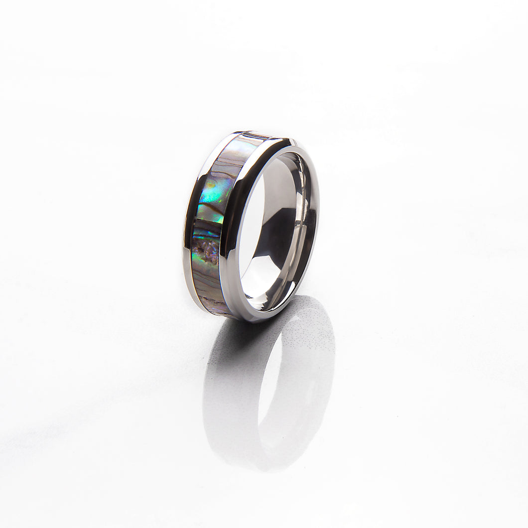 Mens Signature Shell Ring