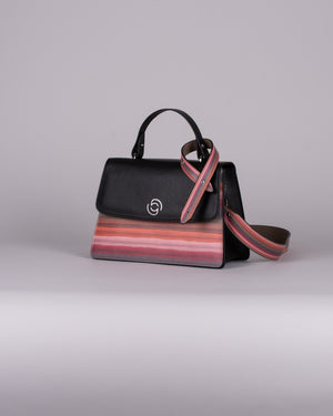 handbag set - black stripes limited edition 2