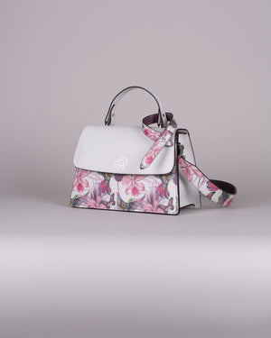 handbag set - white hummingbird
