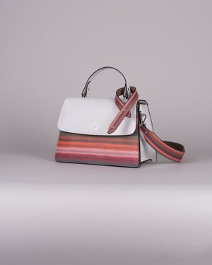 handbag set - white stripes limited edition 2