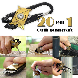 20 in 1 Bushcraft Outil