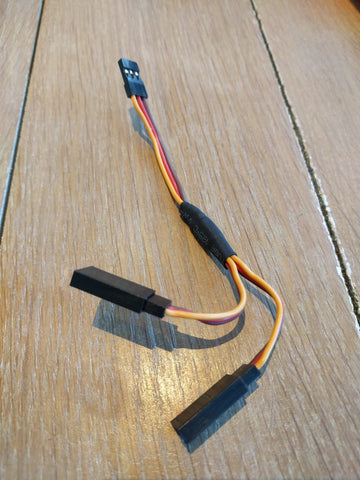 Remote Wire Splitter For 2 VESC's (PPM splitter)