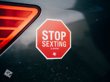 Stop Sexting Stop Sign Magnet
