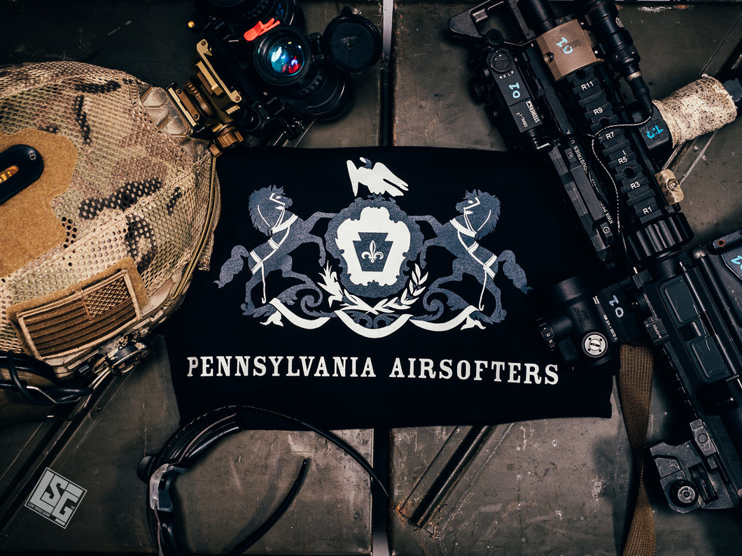 PA Airsofters T-Shirt (OG Screen printed)