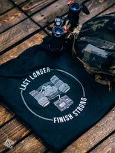 Last Longer. Finish Strong. T-Shirt