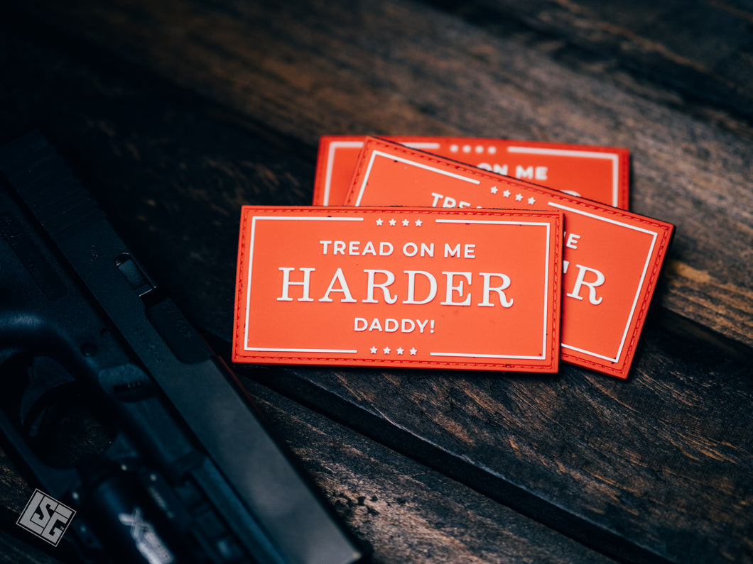 Tread Harder - Patch