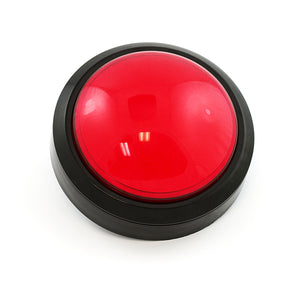 Big Dome Pushbutton - Red Image