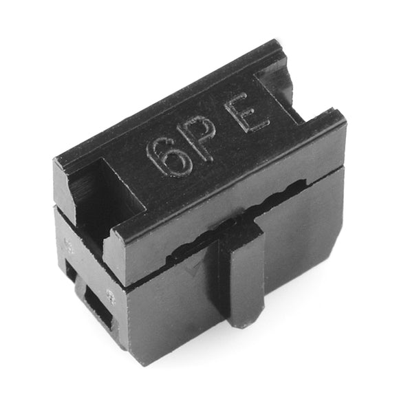 Ribbon Crimp Connector - 6-pin (2x3, Female) Image