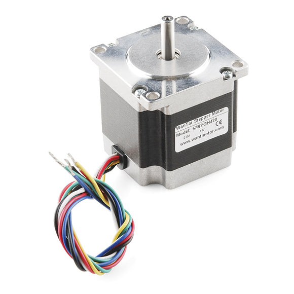 Stepper Motor - 200 steps, NEMA 23, 125 oz.in Image