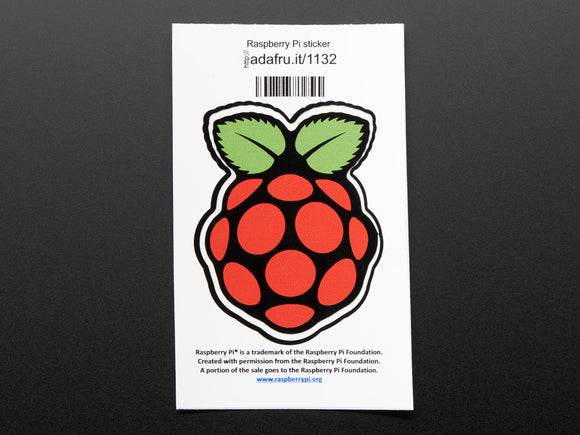 Raspberry Pi® - Sticker Image