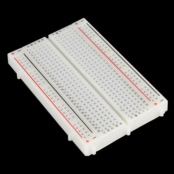 400 Point Solderless Breadboard (White)