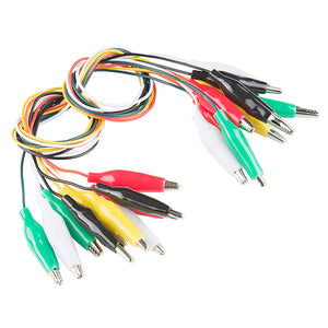 Alligator Test Leads - Multicolored (10 Pack) Image