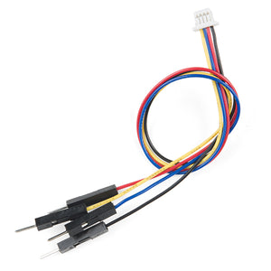 Qwiic Cable - Breadboard Jumper (4-pin) Image