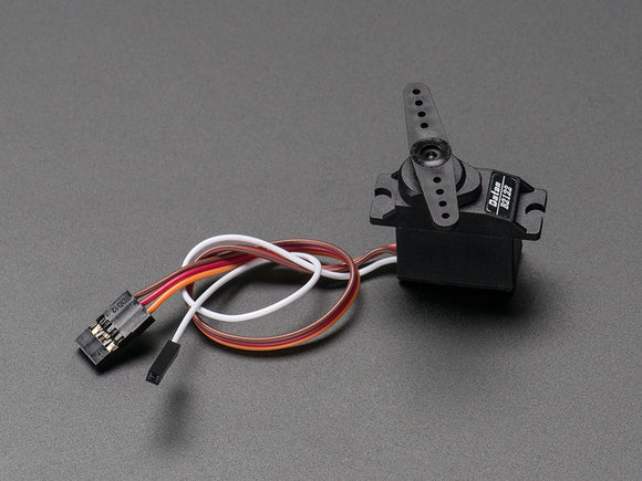 Analog Feedback Micro Servo - Metal Gear Image