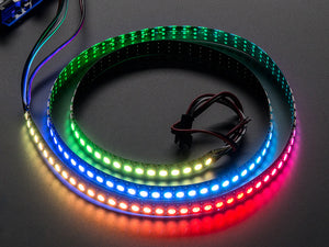 Adafruit NeoPixel Digital RGB LED Strip 144 LED - 1m Black - BLACK Image