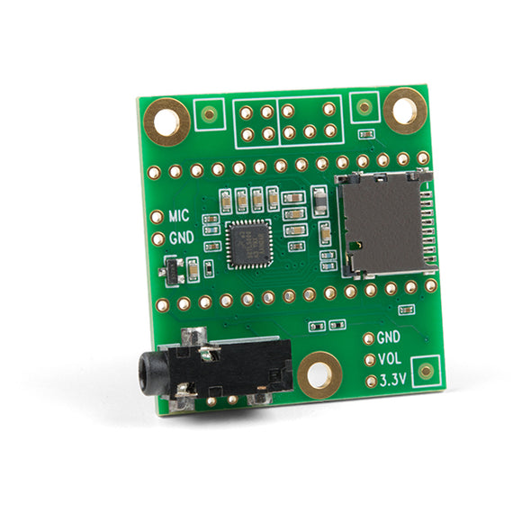 Teensy Audio Adapter Board for Teensy 4.0 (Rev D)
