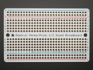 Adafruit Perma-Proto Half-sized Breadboard PCB - Single Image