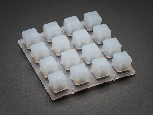 Silicone Elastomer 4x4 Button Keypad