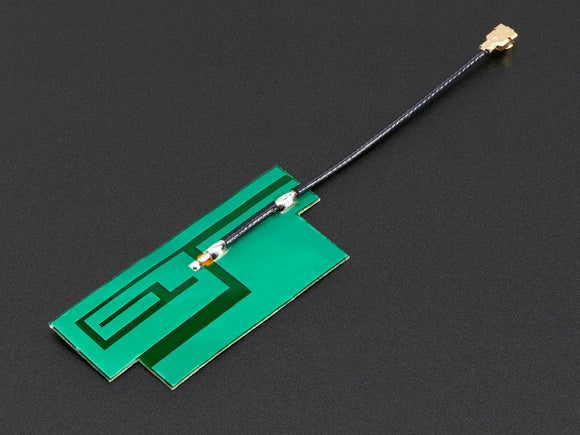 Slim Sticker-type GSM/Cellular Quad-Band Antenna - 3dBi uFL Image