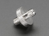 "1/4"" to 1/4"" Screw Adapter - For Camera / Tripod / Photo / Video"