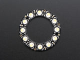 NeoPixel Ring - 12 x 5050 RGBW LEDs w/ Integrated Drivers - Natural White - ~4500K