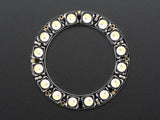 NeoPixel Ring - 16 x 5050 RGBW LEDs w/ Integrated Drivers - Natural White - ~4500K