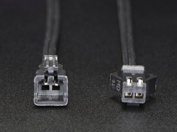 JST SM 2-pin Plug + Receptacle Cable Set Image