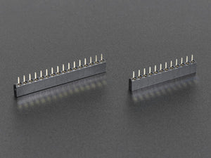 Short Feather Headers Kit - 12-pin and 16-pin Female Header Set Image