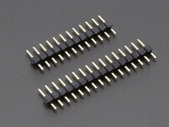 Short Feather Male Headers - 12-pin and 16-pin Male Header Set Image