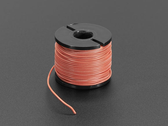 Silicone Cover Stranded-Core Wire - 15m 30AWG Red Image