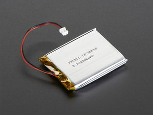 Lithium Ion Polymer Battery - 3.7v 2500mAh Image