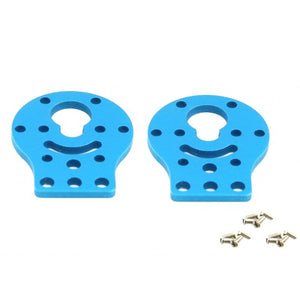 Makeblock DC Motor-37 Bracket A-Blue (Pair) Image