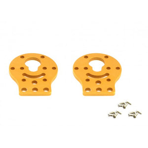 Makeblock DC Motor-37 Bracket A-Gold (Pair) Image