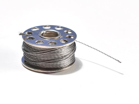 Stainless Medium Conductive Thread - 3 ply - 18 meter Image