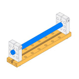 Makeblock Linear Motion Shaft - D8x128mm
