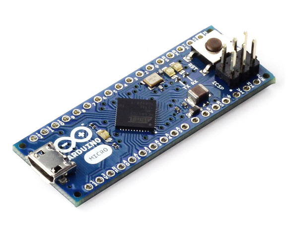 Arduino Micro – Without Headers